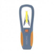 Фонарь КОСМОС Au6002 ,3W COB LED + 4LED, магнит для крепления ,крючок для подвешевания, 4*AAA