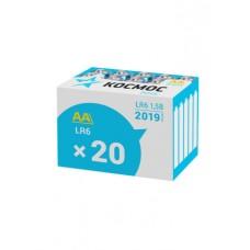 Элем.пит. КОСМОС LR6  20 шт в коробке (KOCLR620BOX) (20/640)