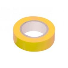 Изолента ПВХ GIT-15-19-20-Y 0,15*19мм, 20 м, Желтая, 1/10/200