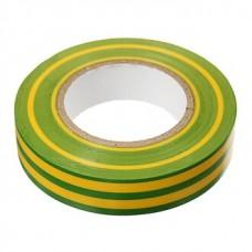 Изолента ПВХ GIT-15-19-20-YG 0,15*19мм, 20 м, Желто-зеленая, 1/10/200