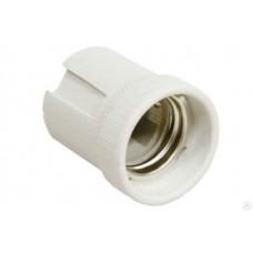 Патрон General GLH-E14-CER-H-W, керамический, Е14, подвесной, белый, 1/400