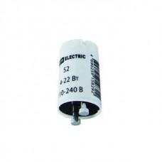Стартер S2 4-22W 110-240V алюм.контакты TDM