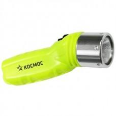 Фонарь для дайвинга КОСМОС 3W LED CREE, погружение до 25м, батарейки в комп