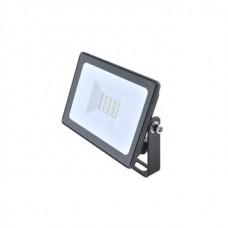 Прожектор светодиодный КОСМОС 10Вт, 800Лм, IP65, 6500K Super-Slim