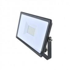 Прожектор светодиодный КОСМОС 30Вт, 2400Лм, IP65, 6500K Super-Slim (10)