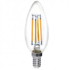 Лампа в кр.уп.LED-F C37 5 W 4000 К E14 HORIZONT