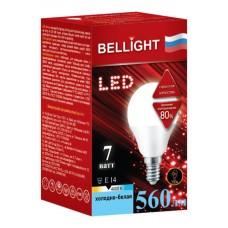 Лампа светодиодная BELLIGHT LED G45 7W 220V E14 4000K