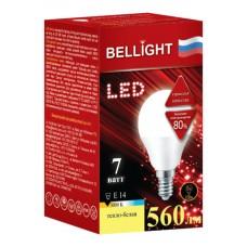 Лампа светодиодная BELLIGHT LED G45 7W 220V E14 3000K