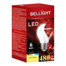 Лампа светодиодная BELLIGHT LED Шарик G45 6W 220V E27 3000K