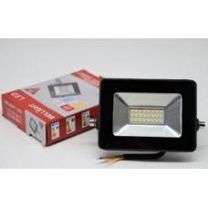 Прожектор светодиодный BL-LFL-2-10-12/24/36 slim/СДО 2-10-12/24/36 slim, 6500К, 800 Lm, IP6 BELLIGHT